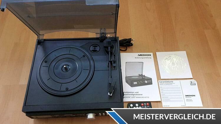 MEDION LIFE E69143 (MD 43142) Schallplatten- und Kassettendigitalisierer Test