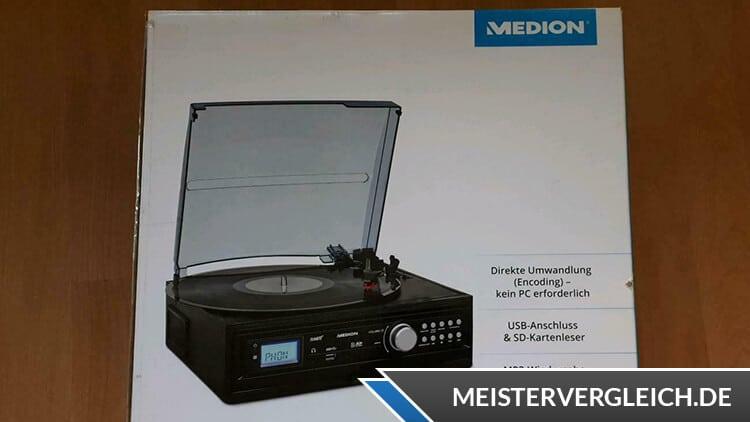 MEDION LIFE E69143 (MD 43142) Schallplatten- und Kassettendigitalisierer Verpackung