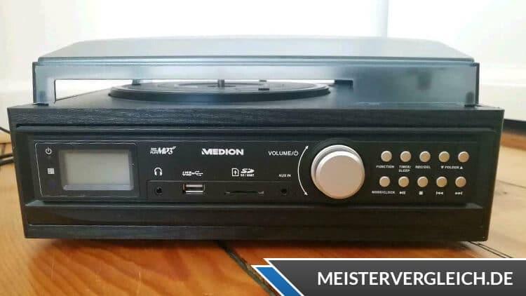 MEDION LIFE E69143 (MD 43142) Schallplatten- und Kassettendigitalisierer