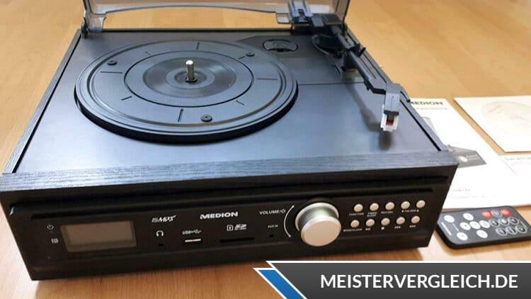MEDION LIFE E69143 Schallplatten- und Kassettendigitalisierer Bedienelemente
