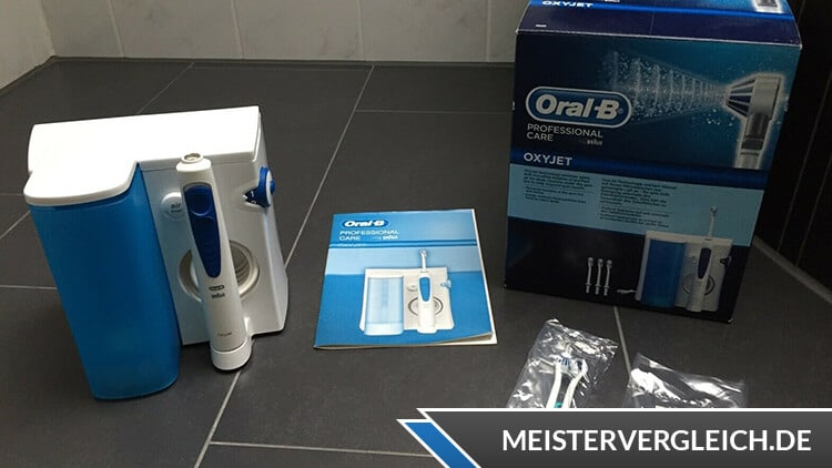 Oral-B Munddusche Oxyjet MD20 Test