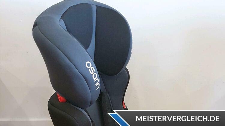 OSANN Kinderautositz Lupo Nero Test