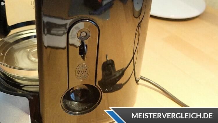 RUSSELL HOBBS Glas Kaffeemaschine Adventure Messlöfel