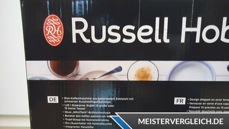 RUSSELL HOBBS Glas Kaffeemaschine Adventure Unboxing