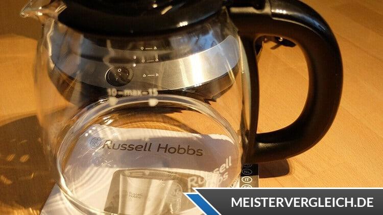 RUSSELL HOBBS Kaffeemaschine Adventure Glaskanne