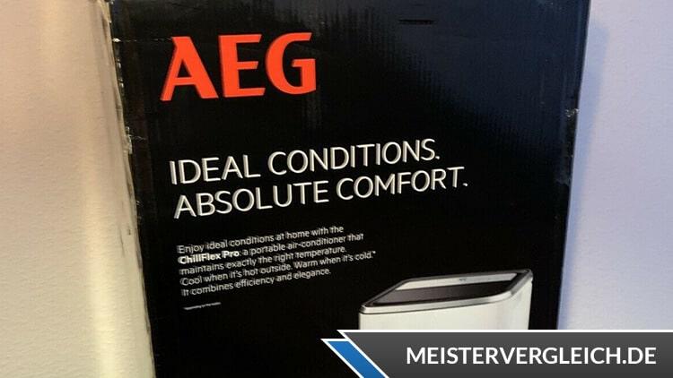 AEG Klimaanlage ChillFlex Pro Verpackung