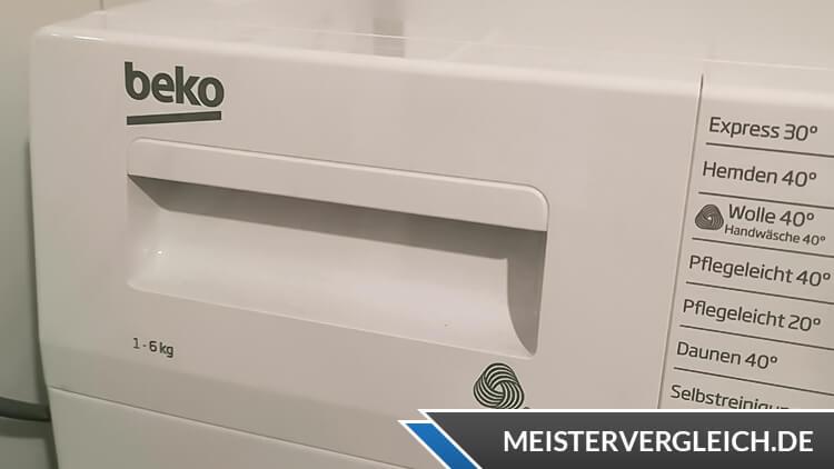BEKO Waschvollautomat WML61023NR1 Waschmittelfach
