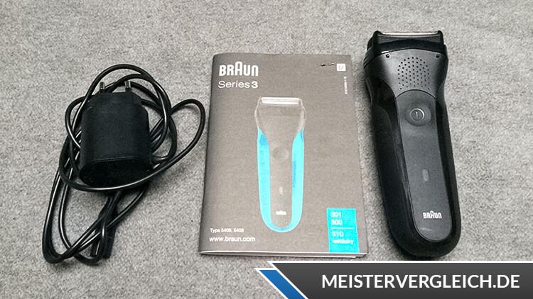 BRAUN Series 3-301 Elektrorasierer Test