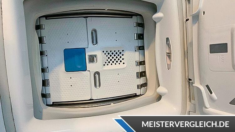 Candy CSTG 482DVE-1-S Toplader Waschmaschine Klappe