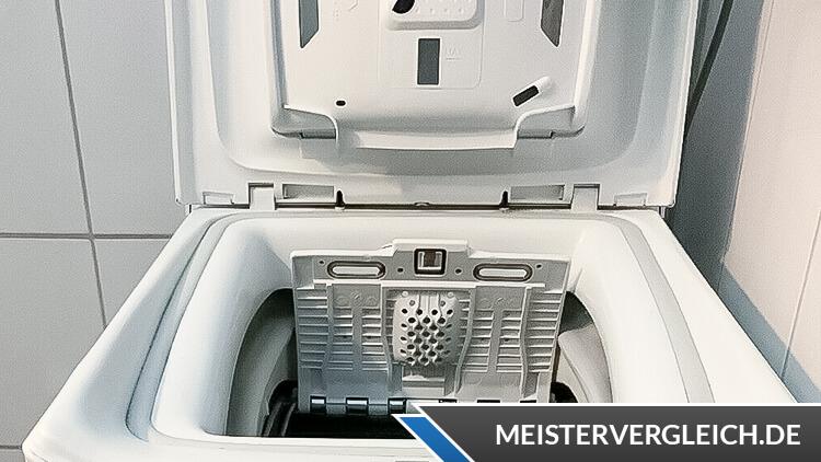 Candy CSTG 482DVE-1-S Toplader Waschmaschine Test