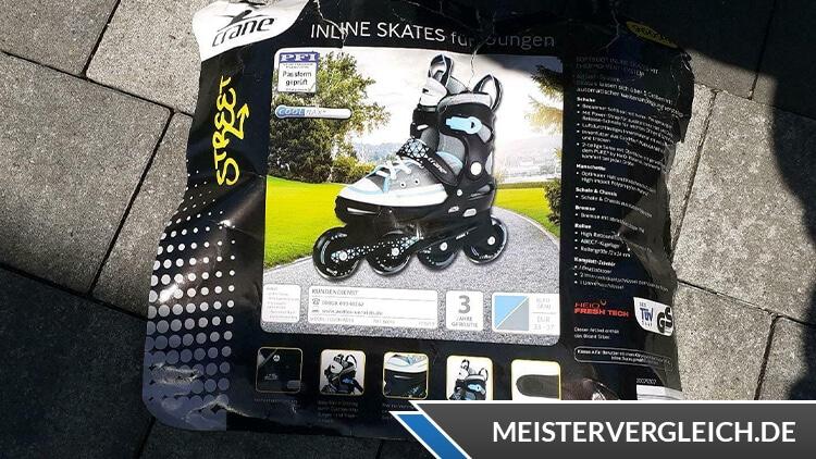 CRANE Inline Skates Verpackung