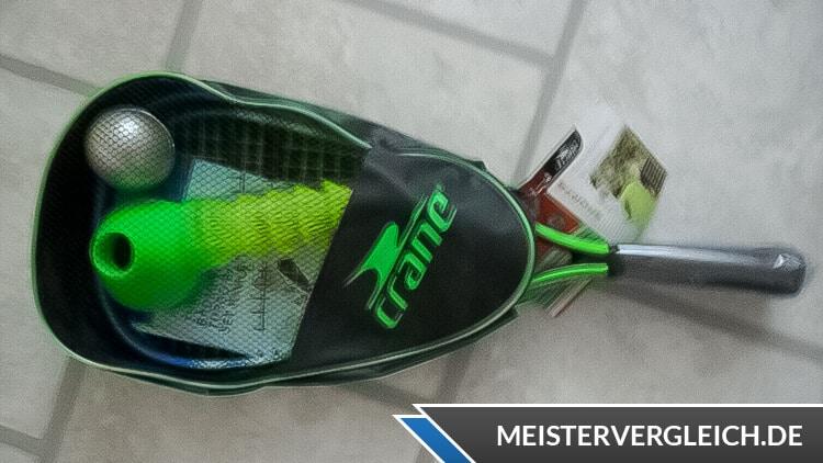 CRANE Turbo-Badminton-Set Test