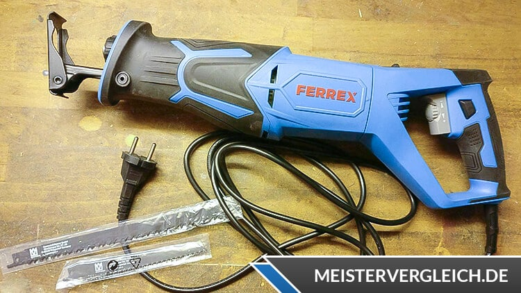 FERREX Elektro Säbelsäge Test