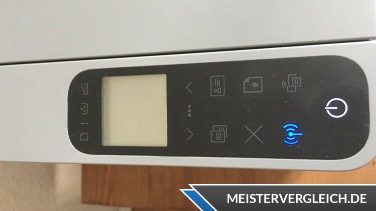 HP Neverstop Laser 1202nw Laserdrucker Bedienelemente