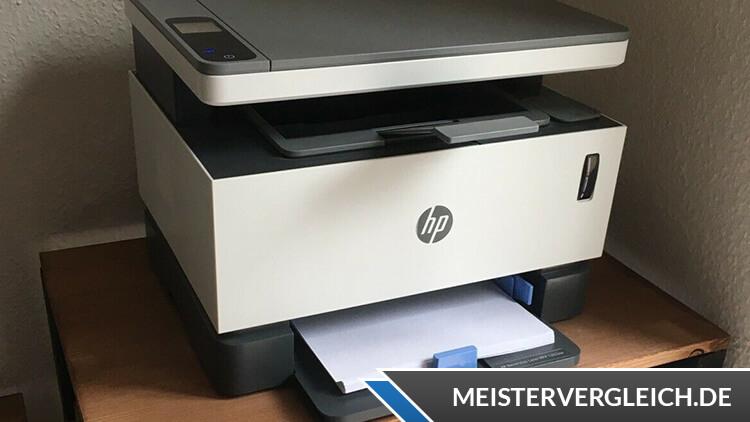 HP Neverstop Laser 1202nw Laserdrucker Test