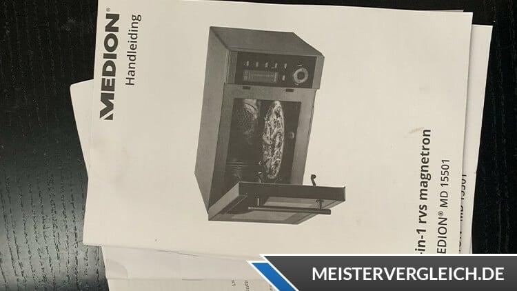 MEDION MD 15501 4-in-1 Mikrowelle mit Grill Bedienungsanleitung