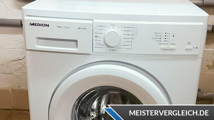 MEDION Waschmaschine MD 37516 Test