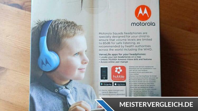 Motorola Squads 300 Bluetooth Kinderkopfhörer
