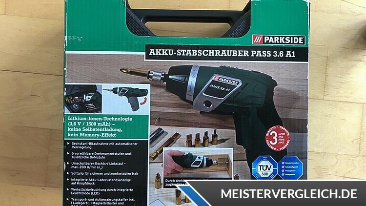 PARKSIDE Akku-Stabschrauber Test