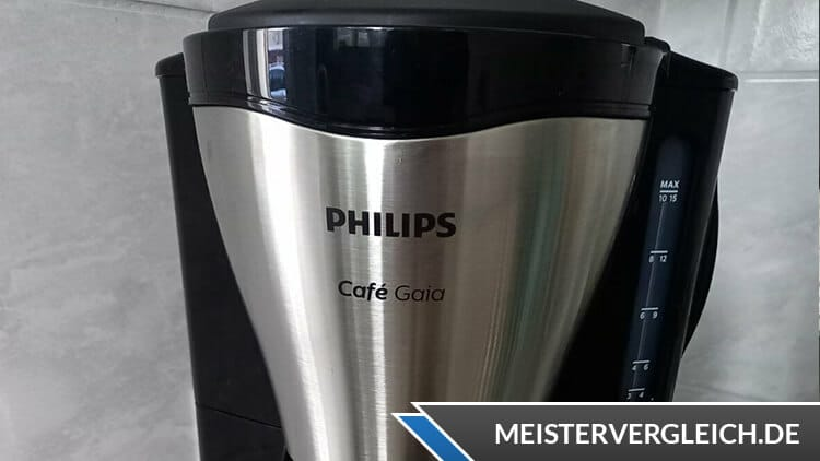 PHILIPS Kaffeemaschine Gaia HD7544-20 Test