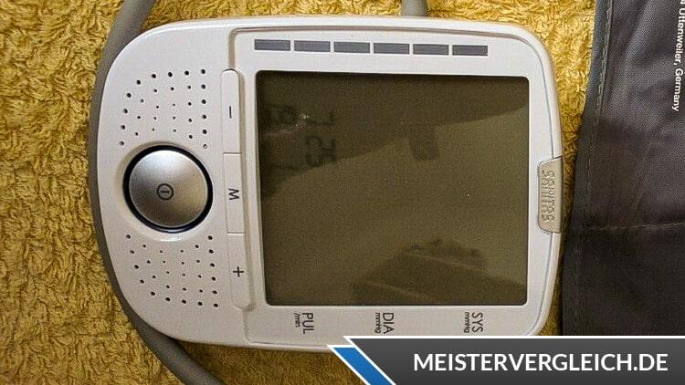 SANITAS Blutdruckmessgerät SBM 52 Test
