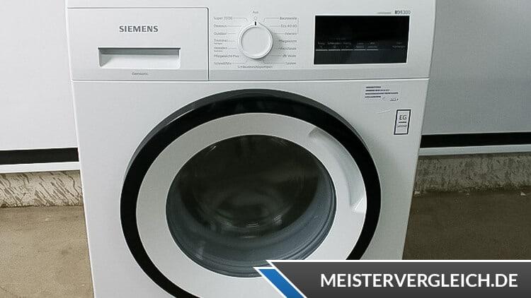 Siemens WM14N122 iQ300 Waschmaschine Test