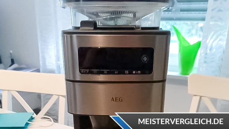 AEG Kaffeemaschine Gourmet 6 CM6-1-5ST Test