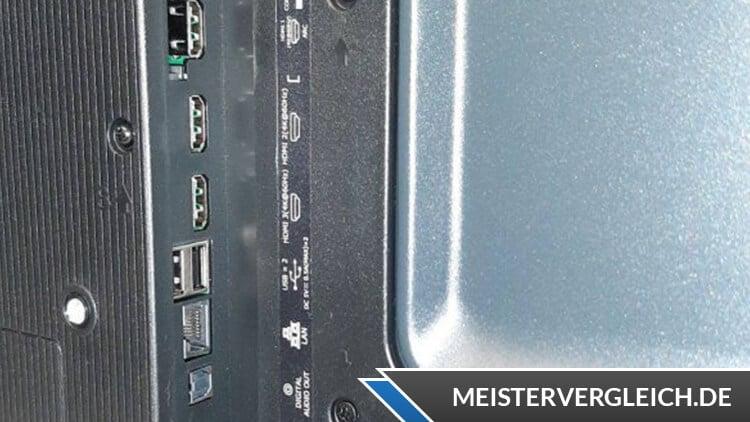 Hisense 43A7100F Fernseher 43 Zoll Anschlüsse