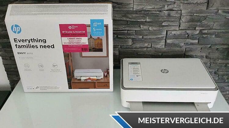 HP ENVY 6032 Multifunktionsdrucker Test
