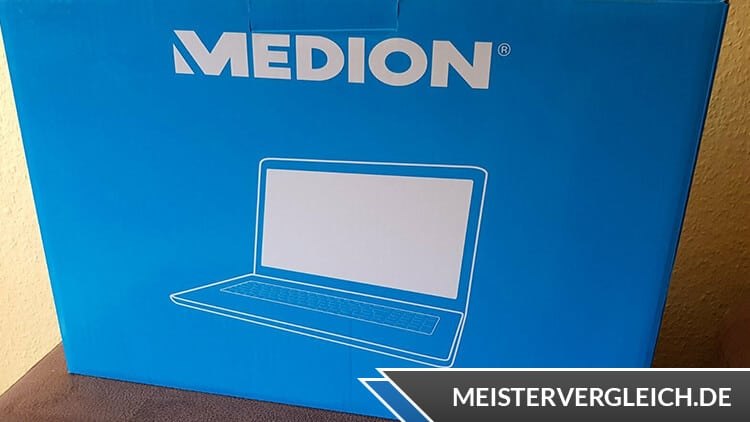 MEDION AKOYA Notebook E16402 MD63830 Verpackung