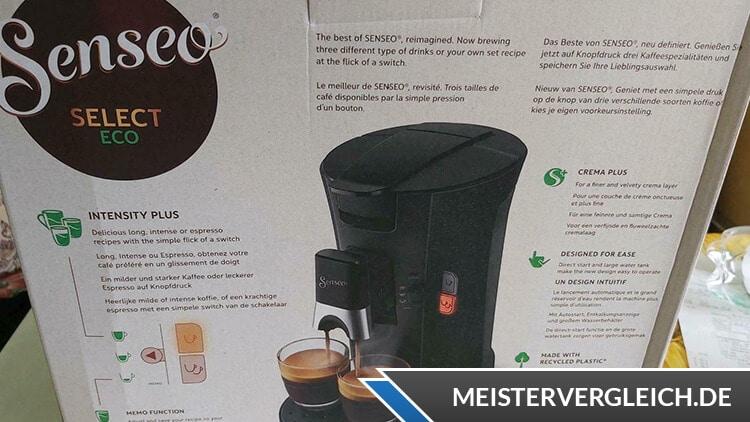 PHILIPS Senseo Select Kaffeepadmaschine Lieferumfang