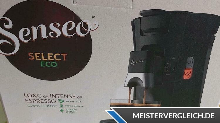 PHILIPS Senseo Select Kaffeepadmaschine Verpackung