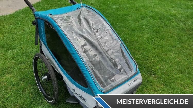 QERIDOO Fahrrad-Anhänger Sportrex 1 Test