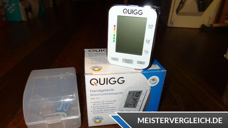 QUIGG Handgelenk-Blutdruckmessgerät Test