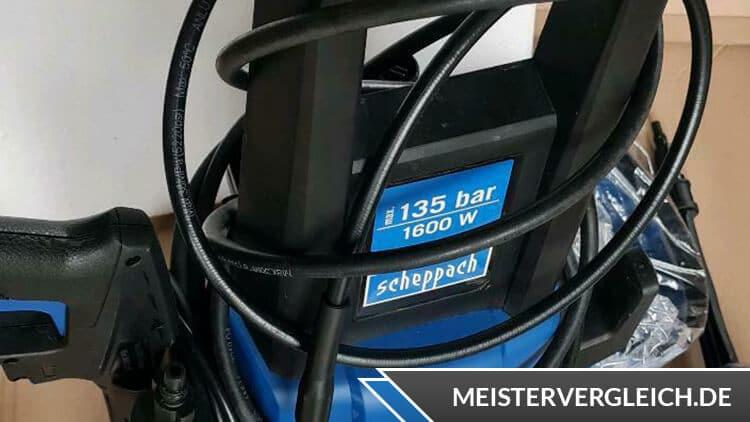 Scheppach Hochdruckreiniger HCE1600 Leistung