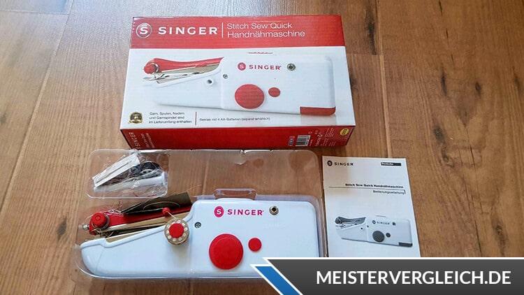 SINGER Handnähmaschine Qualität