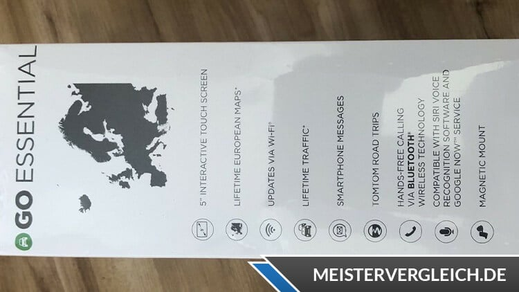 TomTom Go Essential 5 EU Lieferumfang