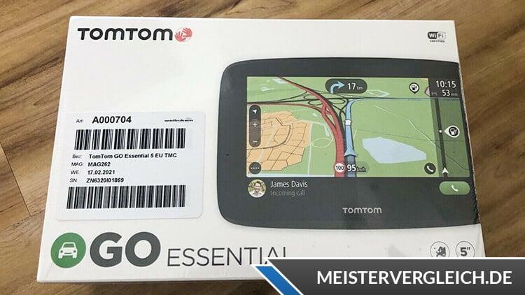 TomTom Go Essential 5 EU Test
