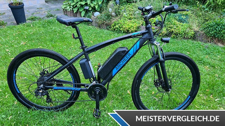 ANCHEER E-Mountainbike Test