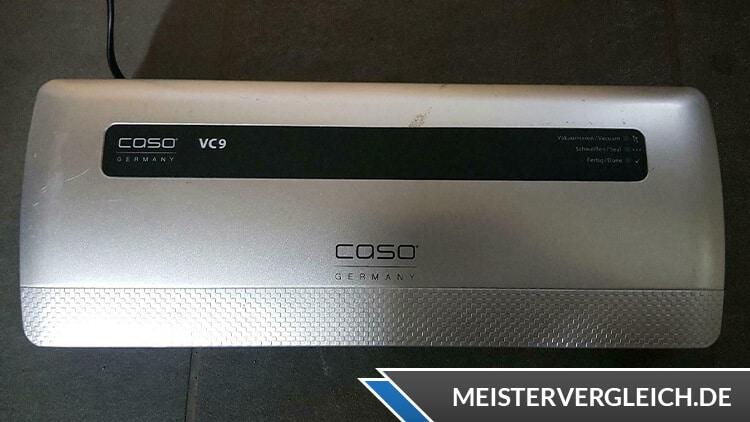 CASO VC 9 Vakuumierer Test