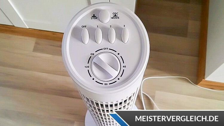 EASY HOME Turm-Ventilator Bedienung