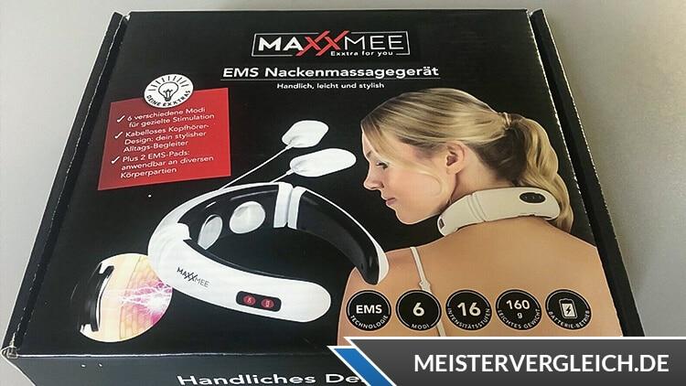 MAXXMEE EMS-Nackenmassagegerät Test