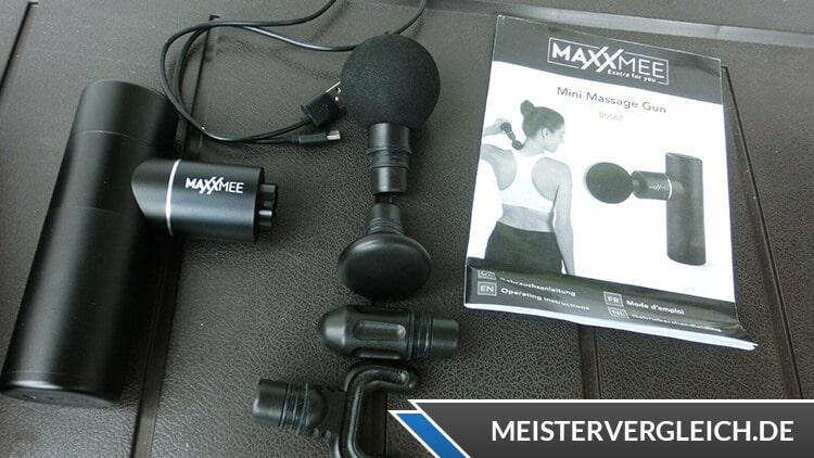 MAXXMEE Mini Massage Gun Test