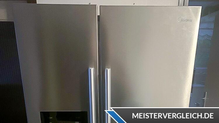 Midea MDRS681FGD02 Side-by-Side-Kühlschrank Griffe