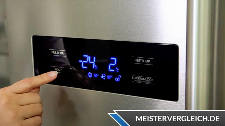 Midea MDRS710FGF02G Side-by-Side-Kühlschrank Display