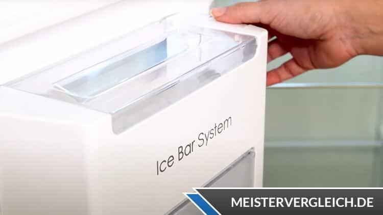 Midea MDRS710FGF02G Side-by-Side-Kühlschrank Ice Bar System