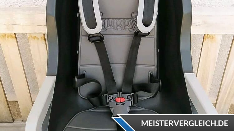Polisport Fahrrad-Kindersitz Guppy RS Plus Test