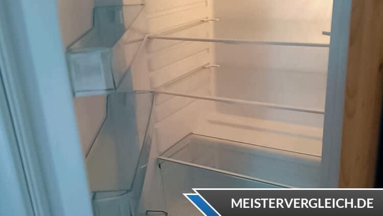 QUIGG Kühlschrank Innenraum