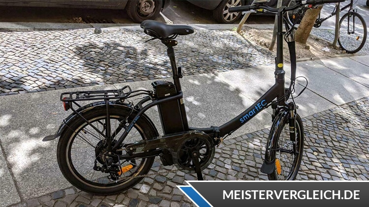 SmartEC Camp-20D Klapprad-E-Bike Test