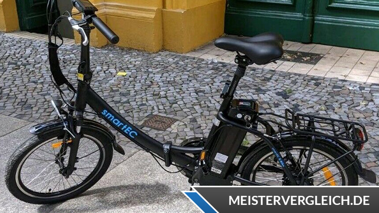 SmartEC Camp-20D Klapprad-E-Bike